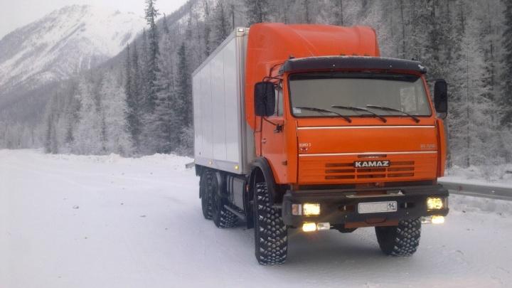 «Вояж» начала зимний сезон грузоперевозок из Архангельска в Нарьян-Мар