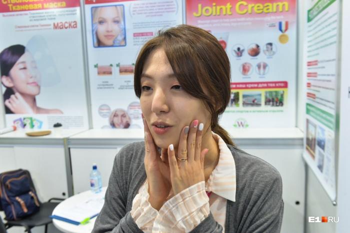 Кожа корейской девушки должна быть идеальной