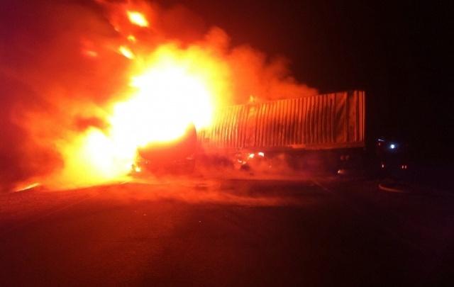Хотел согреться: стали известны подробности гибели дальнобойщика на стоянке под Волгоградом