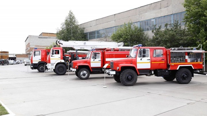 В Курганской области парклесопожарной техники пополнился 20 машинами. Но этого недостаточно