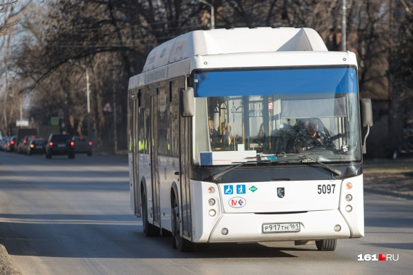В Ростове налинию вышли автобусы «ТрансЭкспорта»