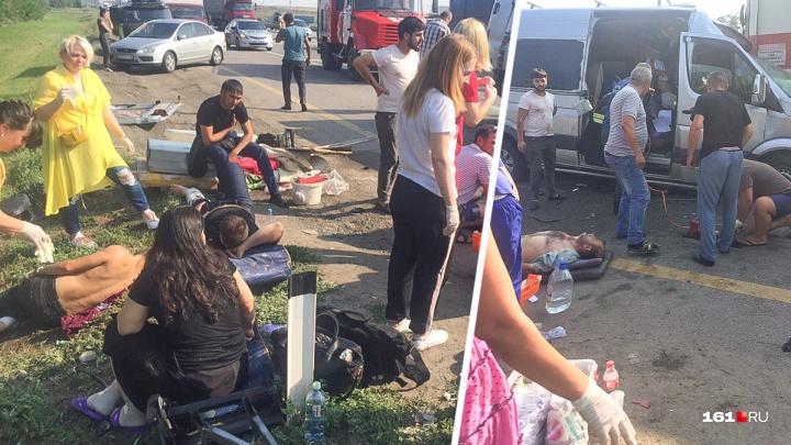Ломали сиденья, чтобы вытащить пассажиров: рассказываем подробности ДТП в Красносулинском районе