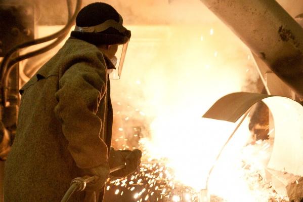 Производство готового олова увеличилось в два раза