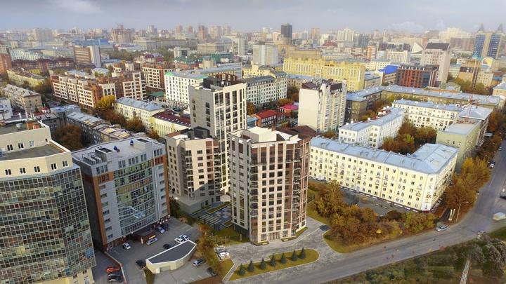 На месте снесённого здания в тихом центре начали строить три дома с именем забытой улицы