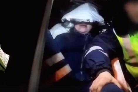 Женщину-водителя в неадекватном состоянии остановили на Котовского
