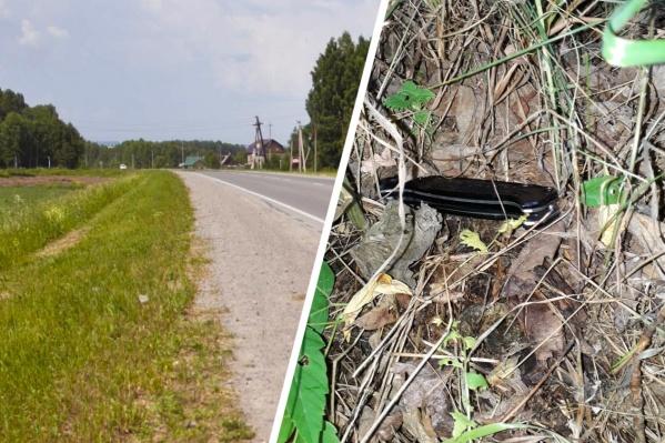 На месте происшествия следователи нашли нож