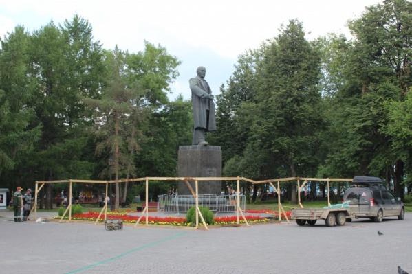 Реставрация памятника уже началась