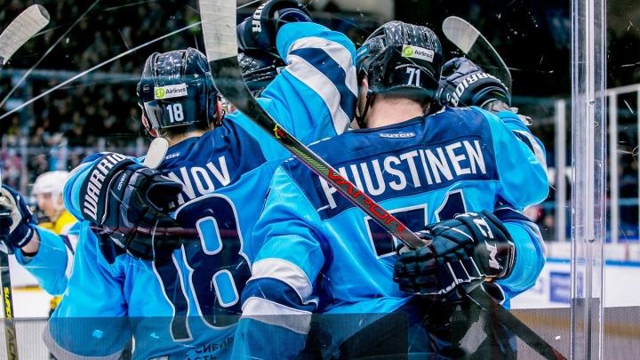 «Сибирь» в домашнем матче обыграла «Северсталь»