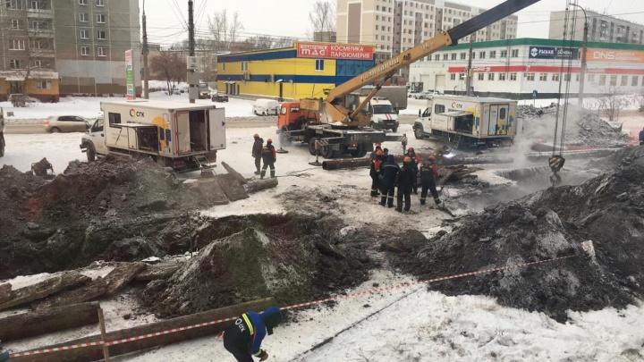 Аварию на Северо-Чемском ликвидировали: жителям возвращают тепло и горячую воду