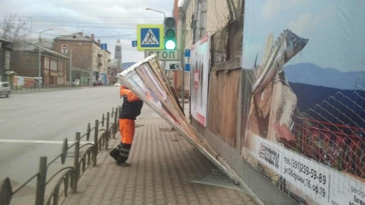 Красноярскому краю пообещали сильные грады и ураганы в этом году