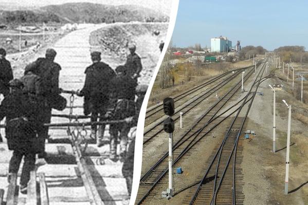 Железнодорожники ремонтировали пути на Москву, получая всего по 2,5 килограмма хлеба в месяц