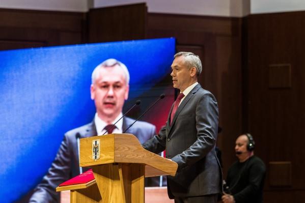 По словам губернатора, региону недостаёт официального гимна