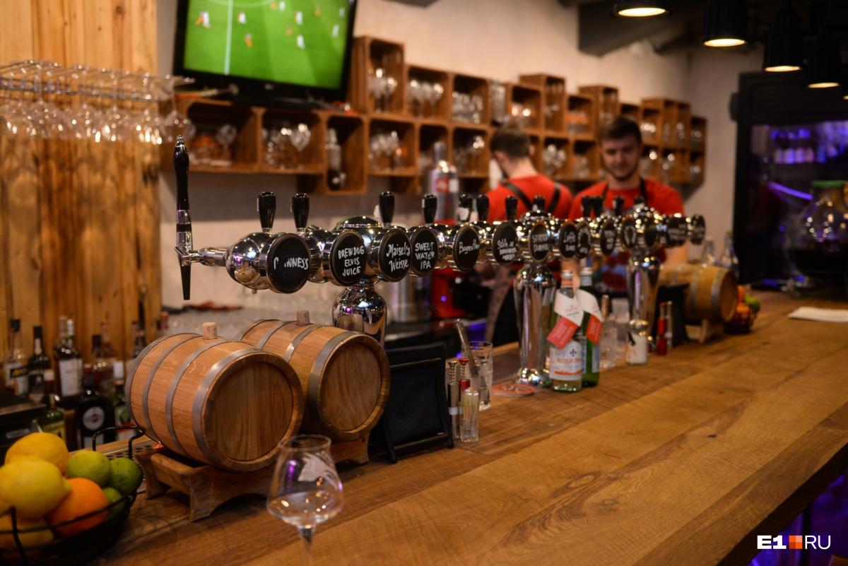 Когда «Агонь» открывался, то у пивоварни в  Заречном были проблемы, сейчас они разрешились , и местное пиво обещают ввести в пивную карту ресторана