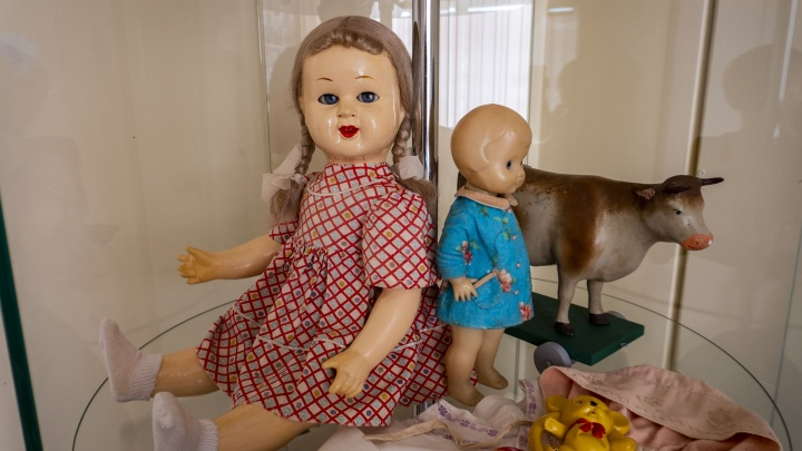 В Новосибирске нашли куклу, сделанную 70 лет назад