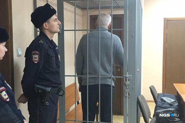 Юрий Лущенков в зале суда