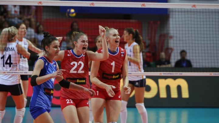 Российская сборная проиграла все матчи на завершившемся в Екатеринбурге турнире Лиги наций