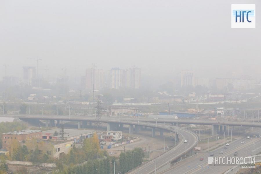 ВКрасноярске вновь обнаружили повышенный уровень загрязнения воздуха