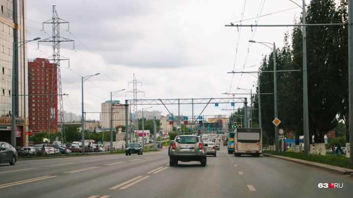 На Московском шоссе изменят схему движения транспорта