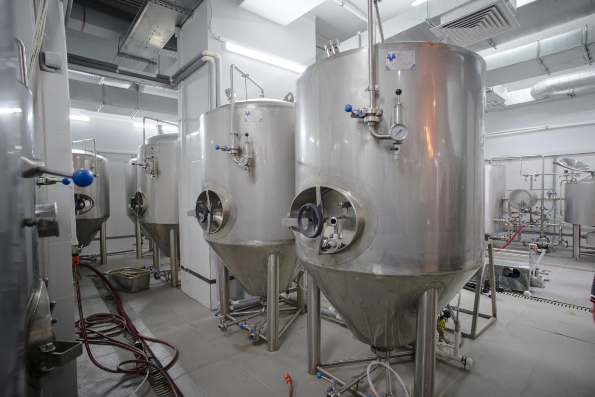 Grott Bar известен собственной пивоварней