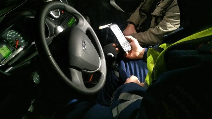 В Курганской области за два дня поймали 49 нетрезвых водителей