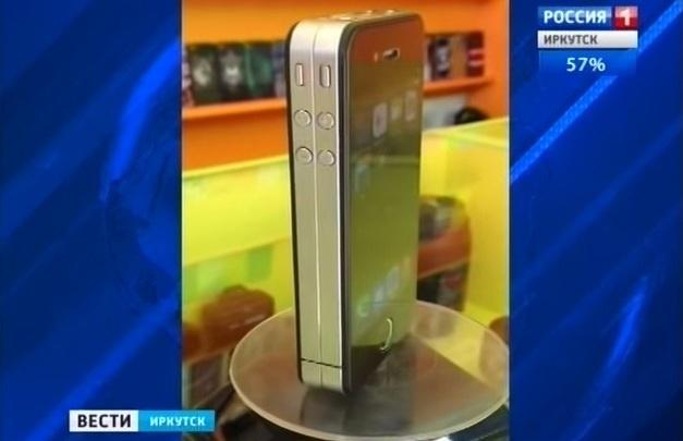 """В Иркутске создали """"Яблокофон 7"""" с шестью днями без подзарядки"""