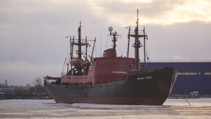 Пойдет на иголки или станет музеем: в архангельский порт вернулось стареющее «Наследие России»