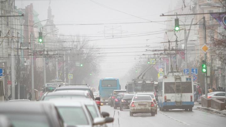 «Видимость нулевая, страшно ехать»: утренняя ростовская дорога потерялась в тумане