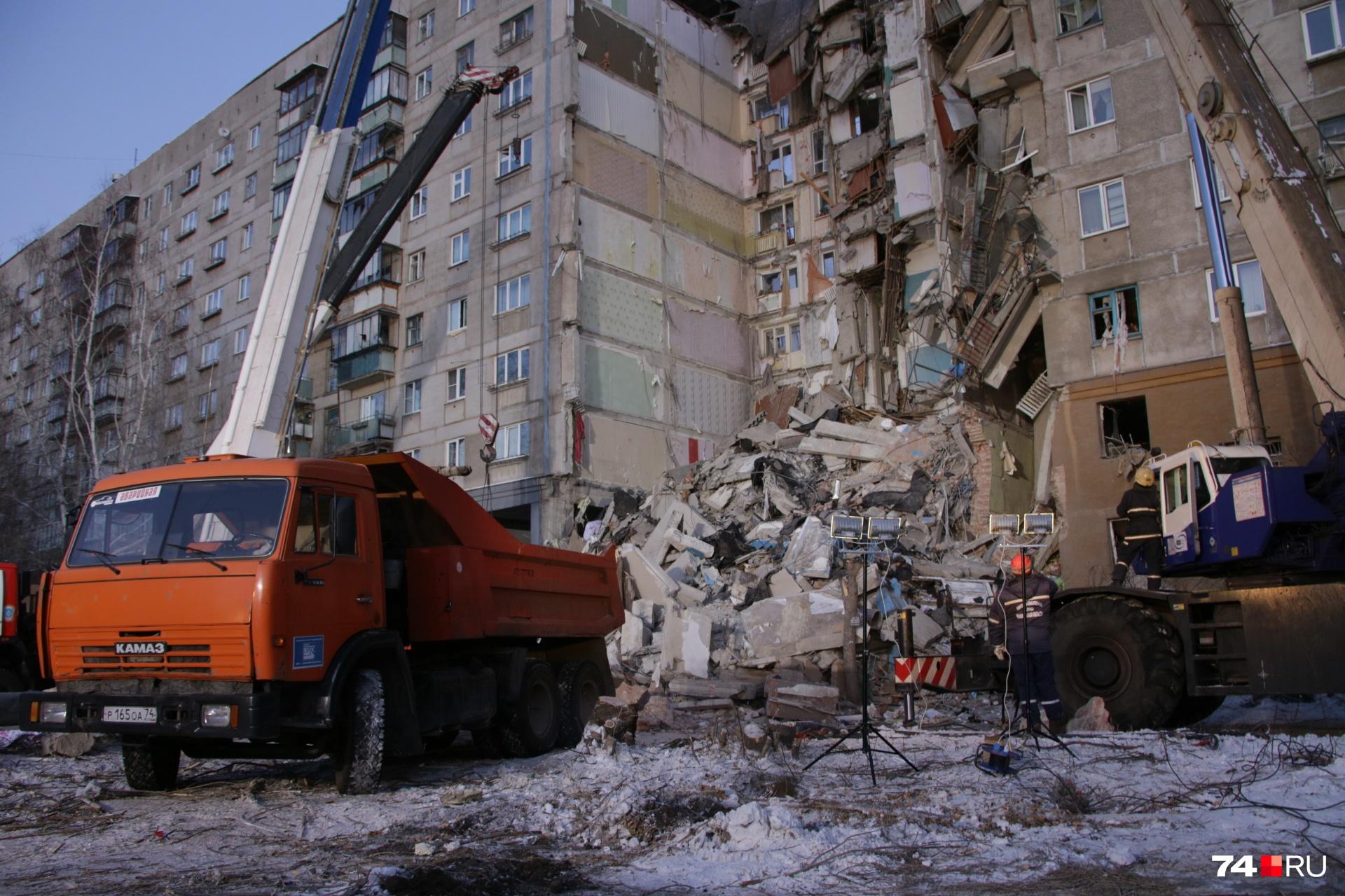 Под этими завалами погибли 39 человек