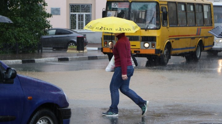 Прогноз погоды. В Нижнем Новгороде становится всё холоднее