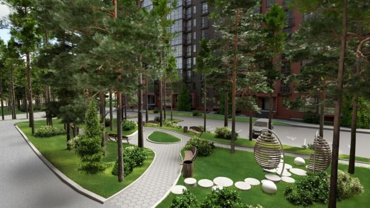 Жилой комплекс из Новосибирска стал лучшим в рейтинге новостроек: он строится не в центре города