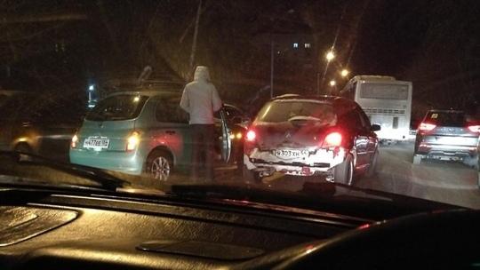 Аварии на Юбилейном и Тёщином языке заблокировали дороги