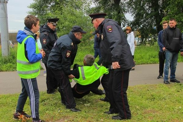 Владимира Когута задержали на Дне города