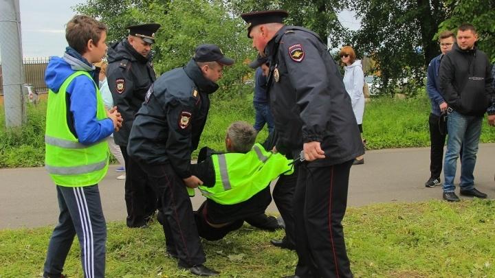«Заседание было веселое»: архангелогородца оштрафовали за неповиновение полиции на Дне города