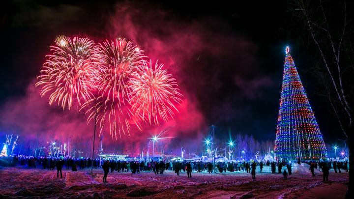 Будет фейерверк и фотозоны: расписание открытия ёлок по Красноярску