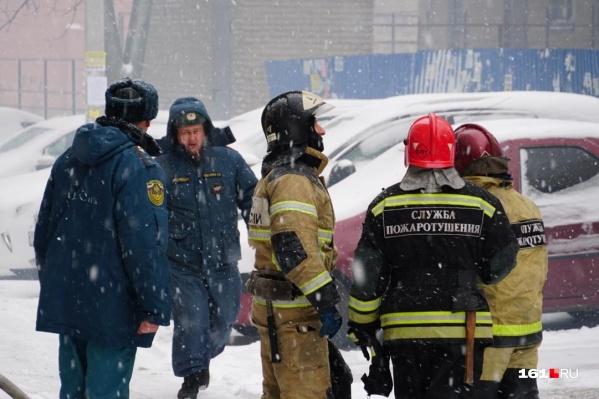 Пожарным удалось быстро потушить возгорание