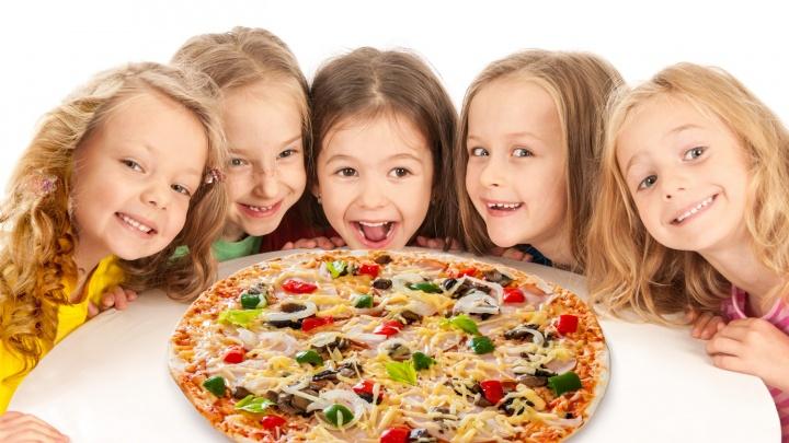 В честь 1 июня «Кушай суши и пиццу» приготовит праздничные угощения
