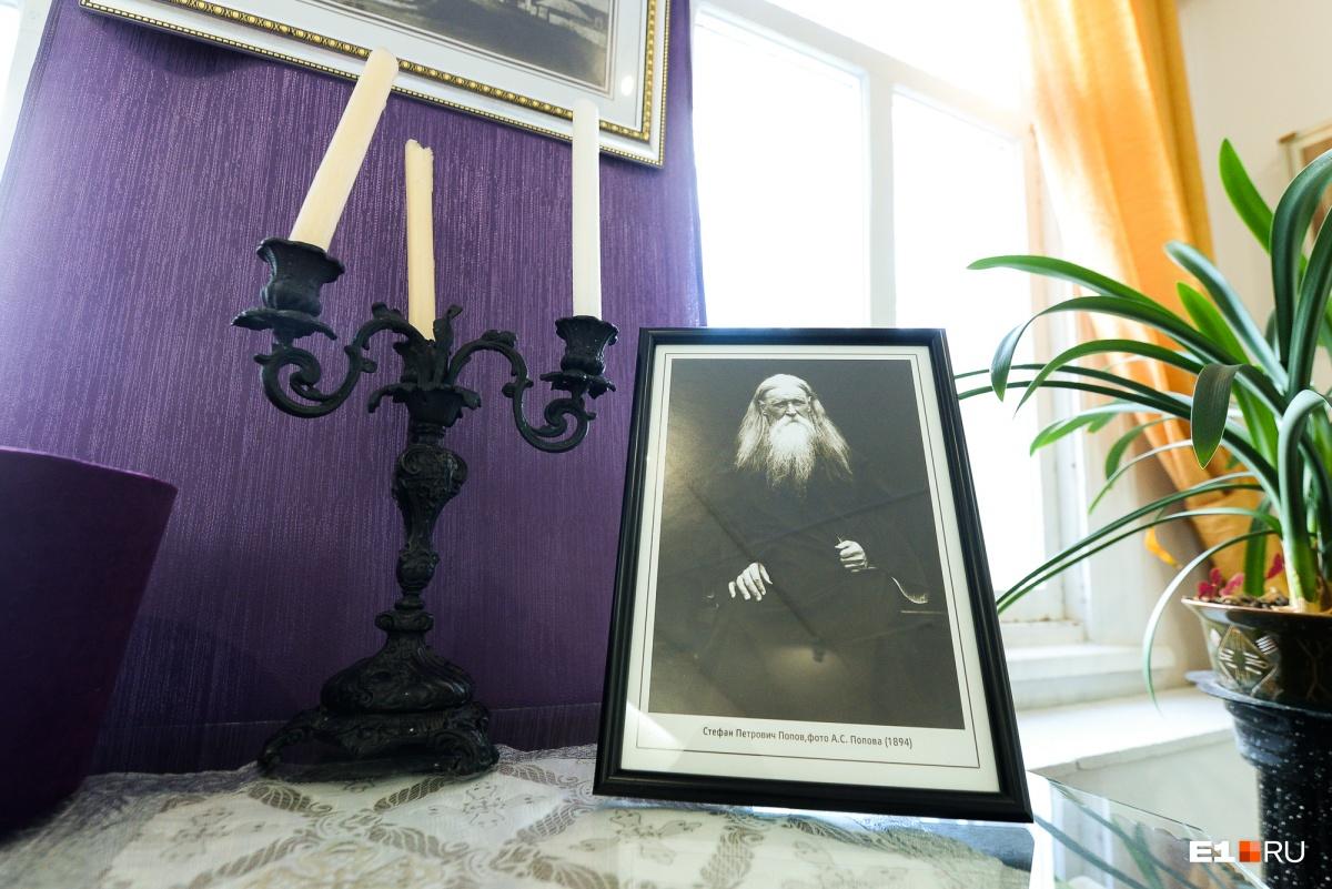 Этот снимок своего отца Александр сделал сам. Всего сохранилось около 70 фотографий, авторство которых принадлежит Попову