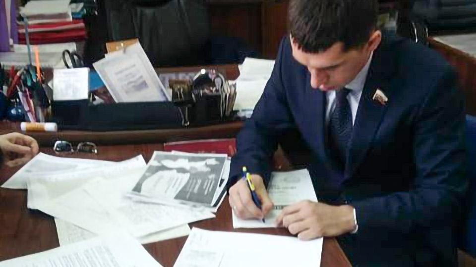 Андрей Самохвалов — представитель ЛДПР