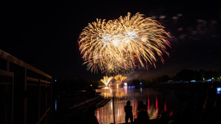 Организаторы фестиваля фейерверков объявили победителя: смотрим его выступление
