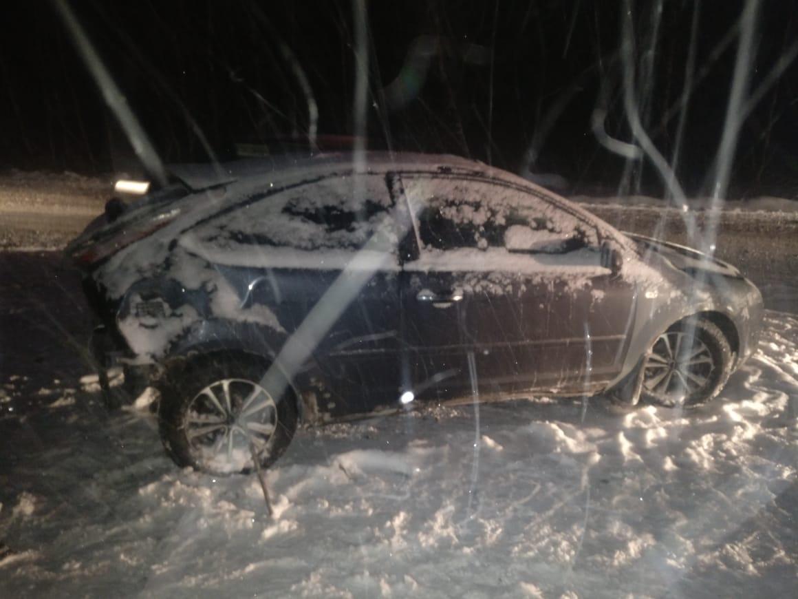 На дублере Сибирского тракта в двух авариях пострадали трое детей