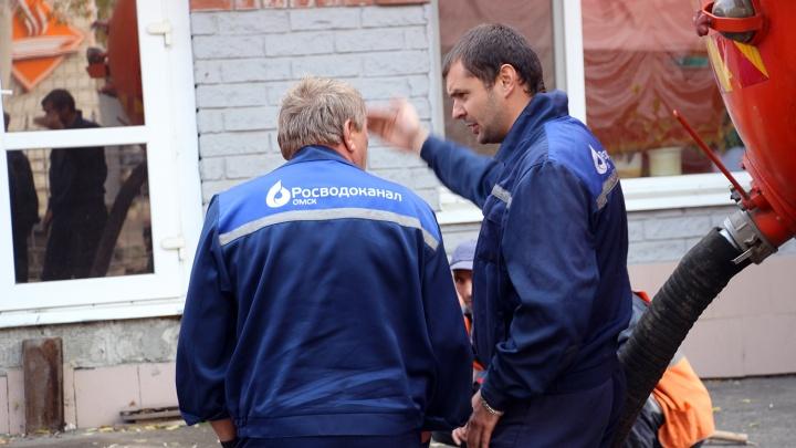 На следующей неделе в Омске без воды останутся более 150 домов