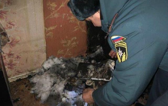 В детском лагере под Курганом произошел пожар