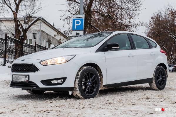 Пермячка купила битый Ford Focus со скрученным пробегом