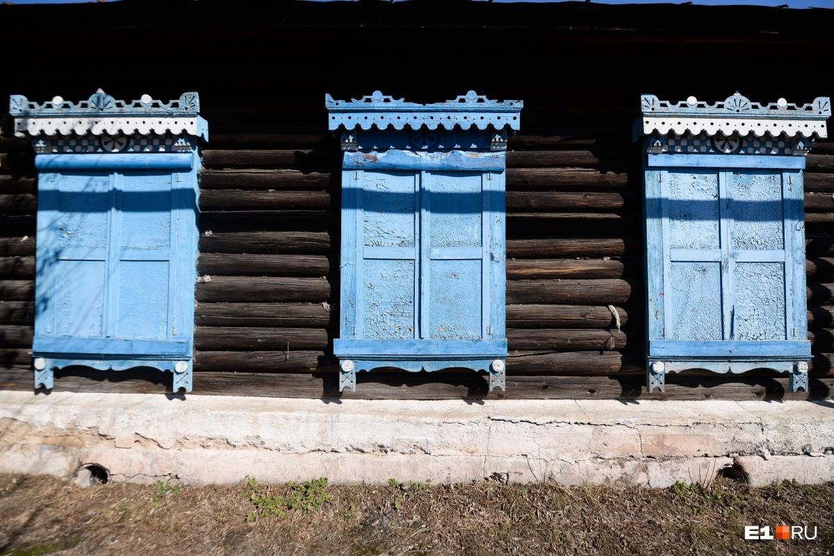 Некоторые дома выглядят откровенно нежилыми