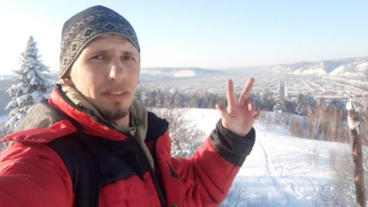 «Покорми кота, буду завтра»: экс-военный добрался автостопом до Красноярска из Питера и рассказал о приеме