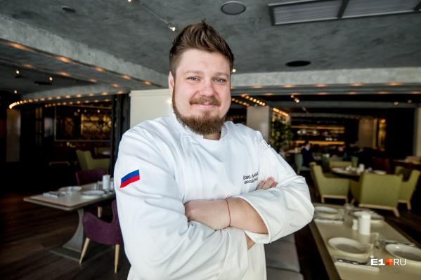 Андрей Бова приехал в Екатеринбург три года назад из Москвы