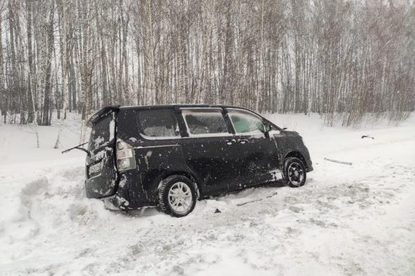 Авария случилась рано утром