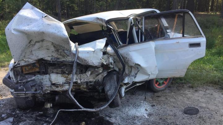 Водитель автомобиля Toyota скончался в больнице: в Кетовском районе произошло смертельное ДТП