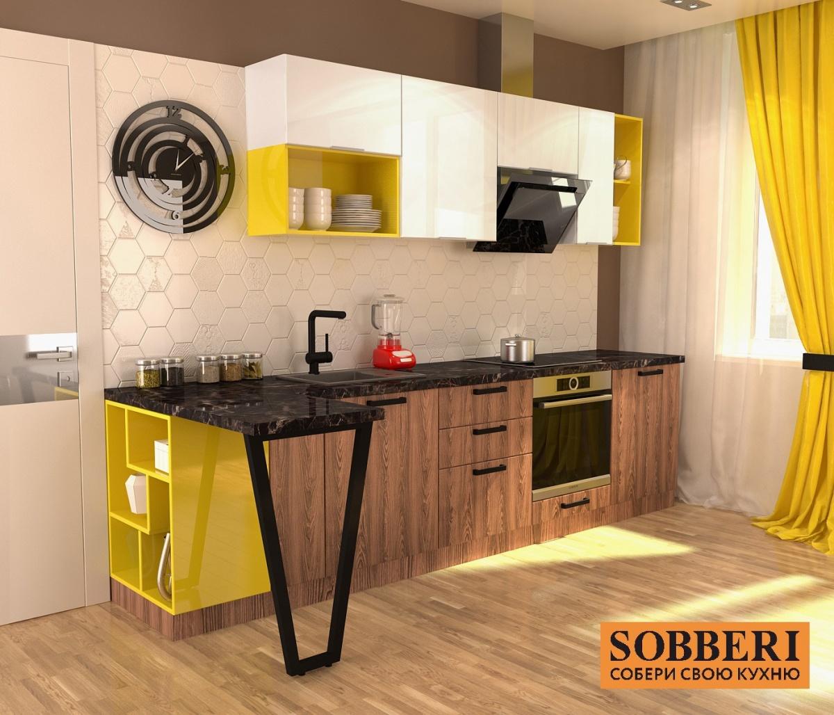 Благодаря свободе выбора цветов, декора и других элементов, кухни Sobberi делают жилое пространство современным и уютным