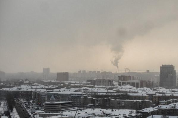 Пробы воздуха брали вблизи дорог и жилых домов